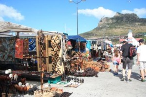 Browse the stalls of Hout Bay market