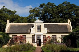 Manor House Vergelegen Wine Estate