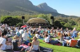 Sunset concert, Kirstenbosch gardens