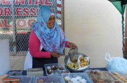 Wardia offering Cape Malay food in the BoKaap