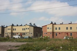 New housing developments in Langa