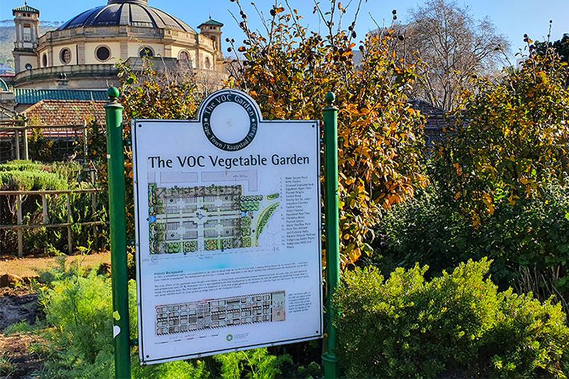 Heritage vegetable gardens