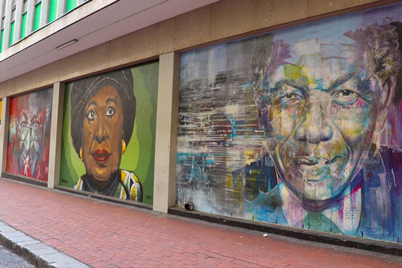 Nelson Mandela Memorial Art